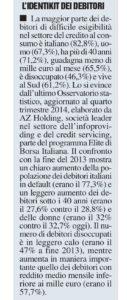 L'identikit ei debitori - Milano Finanza